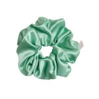 Pure Mulberry Silk Scrunchie - Jade