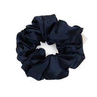 Pure Mulberry Silk Scrunchie - Navy