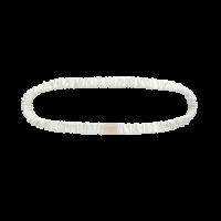 Silk Headband Powder White